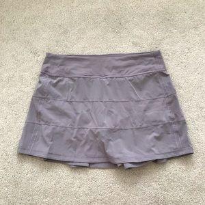 Lululemon. Pace Rival Skirt. Tall. Smoked Mulberry